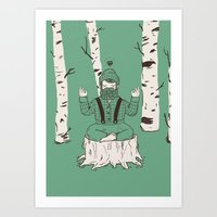 One with everything Art Print