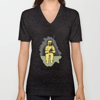 Nuclear Fish'n Unisex V-Neck