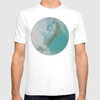 Bubble Feet Mens Fitted Tee White SMALL