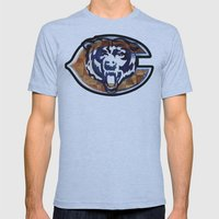 Chicago Bears Mens Fitted Tee Athletic Blue SMALL