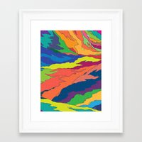 Liquid Framed Art Print