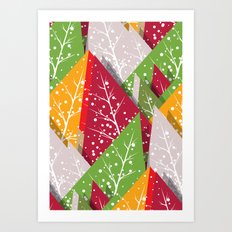 Oh Christmas Tree... Art Print