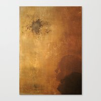 The Spark Canvas Print