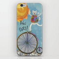 Take Flight With The Sun On Your Face iPhone & iPod Skin