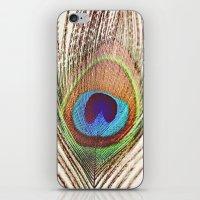 Peacock iPhone & iPod Skin