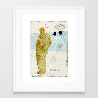 Twombly Framed Art Print