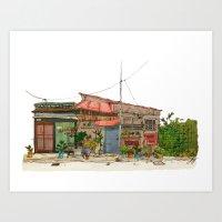 Tokyo Street 7 Art Print