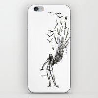 Winged  iPhone & iPod Skin