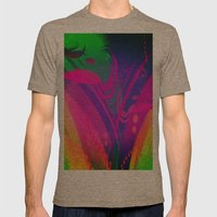 Ilusion Mens Fitted Tee Tri-Coffee SMALL