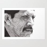 Art Print featuring Danny by Rik Reimert
