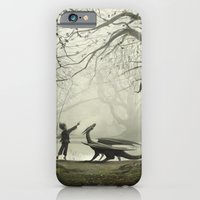 iPhone & iPod Case featuring The Boy And His Dragon by Andy Fairhurst Art
