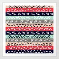 Pattern TRE Art Print