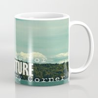 She Looks For Adventure  Mug