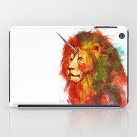 King Of Imaginary Beasts iPad Case