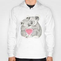 Koalas Love Hugs Hoody