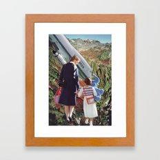 Collage #35 Framed Art Print