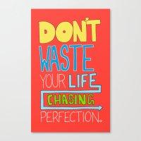 Perfection. Canvas Print