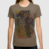 Godly Gander Womens Fitted Tee Tri-Coffee SMALL