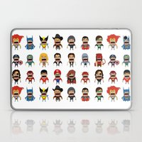 Screaming Heroes Laptop & iPad Skin
