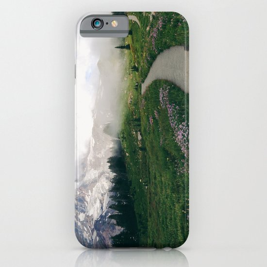 Mt Rainier Path iPhone & iPod Case