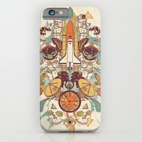 iPhone Cases featuring Spaced Out by The Child
