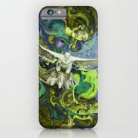 iPhone & iPod Case featuring Freedom green by Sarevski