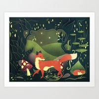 protector of the innocent Art Print