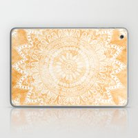 TANGERINE BOHO FLOWER MA… Laptop & iPad Skin