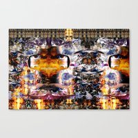 IMGmix-B & SUNRise (Frac… Canvas Print