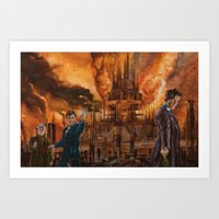 Saviour of Gallifrey Art Print