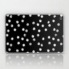 White Dots Laptop & iPad Skin