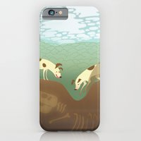 iPhone & iPod Case featuring A Sleuth of Hounds by emilydove