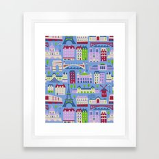 J'adore Paris Framed Art Print