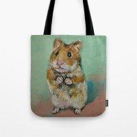Hamster Tote Bag