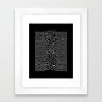 Division Time Framed Art Print