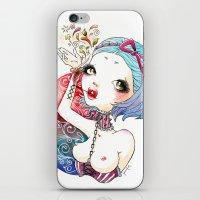 Flower Blood iPhone & iPod Skin