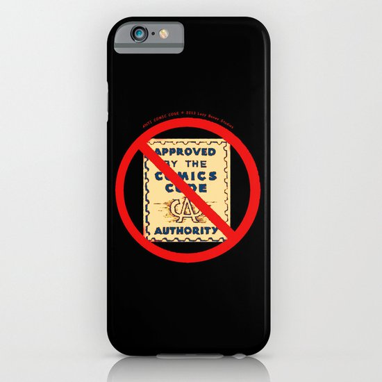 ANTI COMIC CODE 009 iPhone & iPod Case