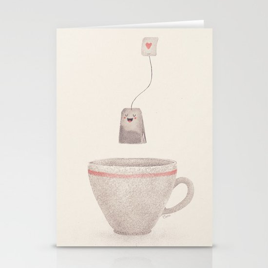Tea Stationery Card