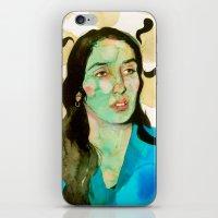 Diamonds And Rust iPhone & iPod Skin