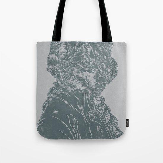 Wolf Amadeus Mozart Tote Bag