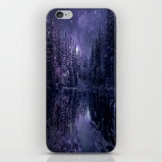 A Cold Winter's Night  iPhone & iPod Skin