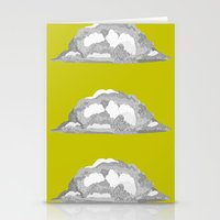 Cloud on Goldenrod Stationery Cards