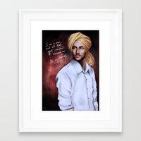 Shaheed Bhagat Singh Framed Art Print