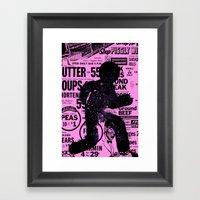 Escapa! Framed Art Print