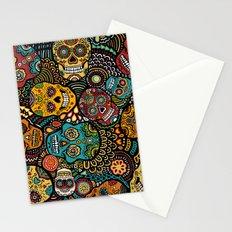 Calavaras - Day of the Dead Skulls Stationery Cards