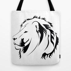 Lionhead Tribiales Tote Bag