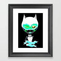 Nobody is perfect Framed Art Print