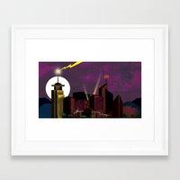 Electricityscape Framed Art Print
