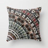 Fan of Geometry Throw Pillow