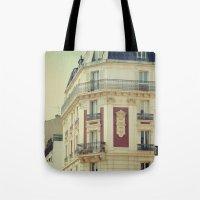 La Parisienne Tote Bag